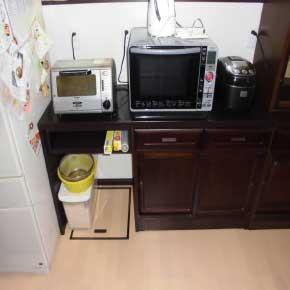 室内リフォームで古い家具のリニューアルBefore