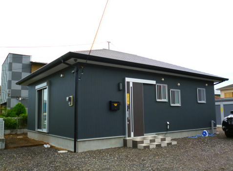 住居兼事務所 新築施工#1