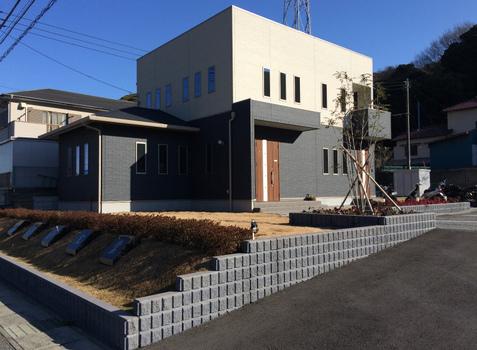 住居兼事務所 新築施工#2
