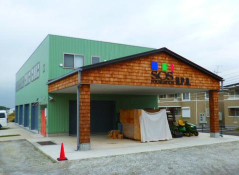 大型倉庫兼事務所 新築施工